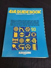 JDM 4X4 MAGAZINE '93 Guide Book SUV Offroad Parts & Accessories Catalog Bible