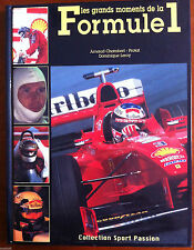 Livre - Les grands moments de la Formule 1 - Collection Sport Passion