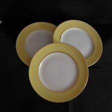 N2789 3 assiettes céramique porcelaine ORCHIES Moulin des Loups art déco France