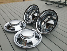 "2003 thru 2019 dodge 3500 dually wheel simulators hubcaps 17"" center caps copies"