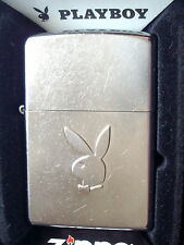 Original ZIPPO Feuerzeug Zippo Playboy Street Chrome 60000296 Neu & OVP