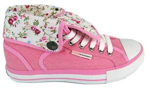 BK British Knights Sneaker Schuhe Rexes Hi peach flower  NEU Größe wählbar