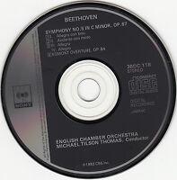 Michael Tilson Thomas : Beethoven Symphony No. 5 ( Japan Pressung )