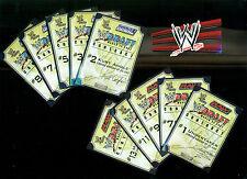 WWE Mattel WWF Jakks Raw Smackdown Draft Contracts 10 Pieces