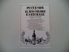 advertising Pubblicità 1977 CARPANO PUNT E MES