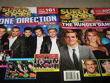 NEW! LOT 2 SuperStars ONE DIRECTION Back for More & Stars of the HUNGER GAMES