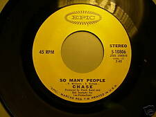 CHASE SO MANY PEOPLE 45 on EPIC Label MINT