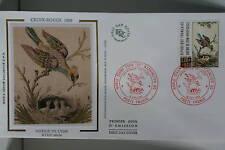 ENVELOPPE PREMIER JOUR SOIE 1989 CROIX-ROUGE SOIERIE