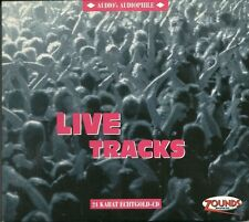 Live Tracks various audio's audiophile vol. 12 24 carati Zounds ORO CD