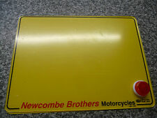 OXFORD SELF ADHESIVE STICK ON MOTORCYCLE NUMBER PLATE REFLECTOR 20MM