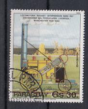 Paraguay Briefmarken 1981 Elektrische Eisenbahnen Flugpost Mi 3367 gestempelt
