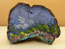Hand Painted Tree Fungus (Fungi) - Scenic Landscape Painting