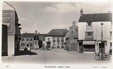 Pocklington Market Street Post Office Nr York Market Weighton unused RP pc