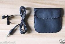 Pro Lavalier Microphone for Sennheiser Wireless G2 G3 Lapel Condenser Mic + bag