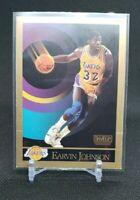 MAGIC JOHNSON Los Angeles LAKERS 1990-91 SKYBOX Basketball Card # 138