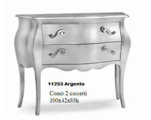 Dresser 11253 With 2 Drawers CMS 100x42x85H, Various Colors