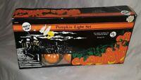 Halloween Jack O Lantern Pumpkin Ghost Blow Mold String Lights 10 Lites #2