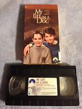 My Life as a Dog (1985) - VHS Video Tape-Drama-Anton Glanzelius- Lasse Hallström