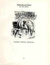 Thelwell Ponies (Horses) Funny Original Vintage Cartoon Print