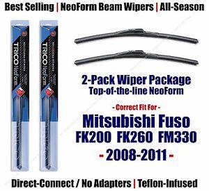 Wipers 2pk Premium fit 2008-2011 Mitsubishi Fuso FK200 FK260 FM330 16260x2