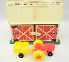 Vintage Fisher Price Family Play Farm