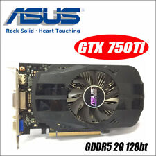 ASUS GTX 750 TI OC 2GB GDDR5 128Bit Original Graphics Card - HDMI DVI VGA Output