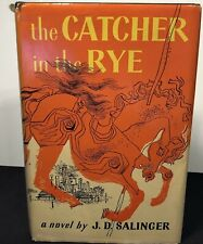 THE CATCHER IN THE RYE 1951 JD SALINGER BC Edition Hardcover