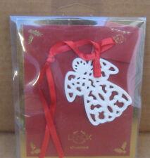 Lenox Christmas Ornament Pierced Angel Charm in Package