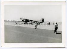 PENNSYLVANIA CENTRAL AIRLINES Aircraft Penn Liner on Tarmac Vtg 1950s Photo PCA