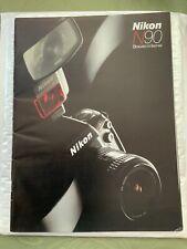 Nikon N90 CAMERA Advertising BROCHURE 81/2x11 Free Shipping