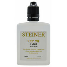 More details for specialist flute key oil 60ml by steiner music