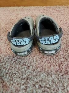 Crocs Shoes Star Wars Chewbacca Chewy Fuzzy Lined Clogs Kids 6/7