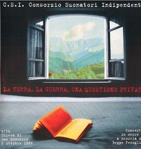 LA TERRA, LA GUERRA,  UNA QUESTIONE PRIVATA dal master tape - cover ondulata