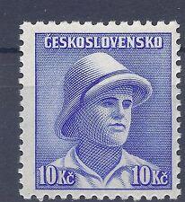 Czechoslovakia Ceskoslovensko 1945 Allied Forces Soldier of WW2 10kc stamp MNH