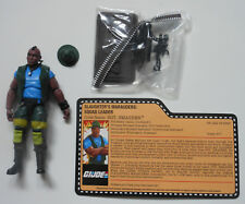 SGT. SMASHER GI Joe Convention 2018 Exclusive Boxed Set Loose Mint Complete