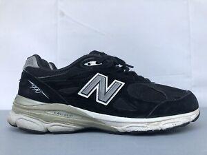 New Balance Heritage M990BK3 Black USA Marathon Running Sneaker Shoes Mens 8.5 D