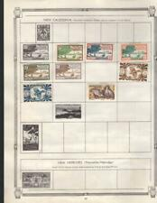 1¢ WONDER ~ FRENCH COLONNIES M&U SMALL LOT ON PAGES ALL SHOWN ~ K952