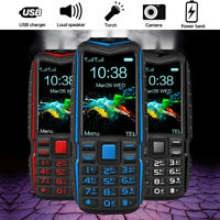 2.6'' 13800mah Torch Big Speaker Big Screen Mobile Phones Long Stand-BY Gift
