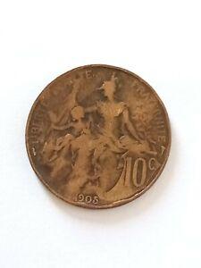 Rare 10 centimes dupuis 1905