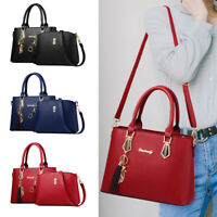 Women Handbags Leather Satchel Shoulder Bag Tote Lady Messenger Crossbody Purse