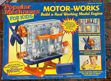 Nib-Popular Mechanics For Kids Motor-Works, Build A Real Working Model Engine
