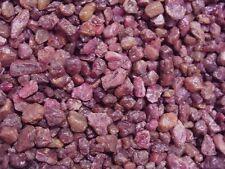 Ruby corundum crystal red mixed grade Madagascar 1/8-3/8 inch 1 pound lots