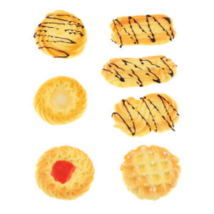Artificial Biscuit Simulation Cookies Dessert Food Model Photography Video Props