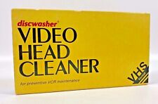 Discwasher Video Head Cleaner for VCR maintenance