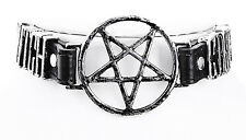Restyle Halskette Choker Collar Vegan Witchcraft Hexe Pentagram Necklace Occult