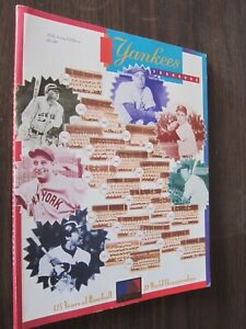 1994 New York Yankees Yearbook 45th Annual Edition