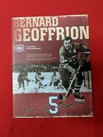 NHL MONTREAL CANADIENS 11/3/06 #5 B.GEOFFRION JERSEY RETIREMENT NIGHT FOLDER SGA