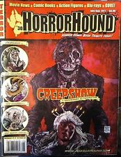 """HORRORHOUND MAGAZINE #30 Excl. """"Creepshow"""" Cover FN"""