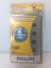 Philips High Definition Manual Switcher - Connect 4 Devices to your TV - In Pack