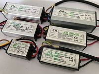 10W~100W 1-5package LED Driver Power Supply Waterproof For LED Floodlight DIY
